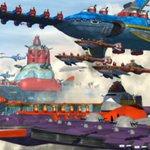 Image for the Tweet beginning: FF15の帝国基地奇襲ミッションのロード画面で飛んでる戦艦はなんか見た事有る様なデザインだね❗️ リヴァイアサンもなんかで見たことあるwwww  #FF15  #ソニックヒーローズ  #ソニックアドベンチャー