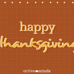 Image for the Tweet beginning: Happy Thanksgiving! We're thankful you're