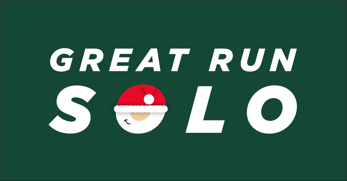 The #GreatRunSolo December Accumulator challenge is back! Complete 12 runs of any distance between 1st & 25th December and receive a unique finishers medal. Take on the challenge and fundraise for Womens Aid to support our life-saving work. 👉 lght.ly/ed6o60l
