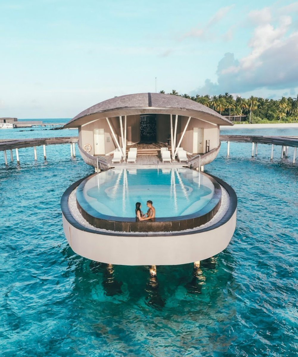 Paraíso de las Islas Maldivas.🌏♥️