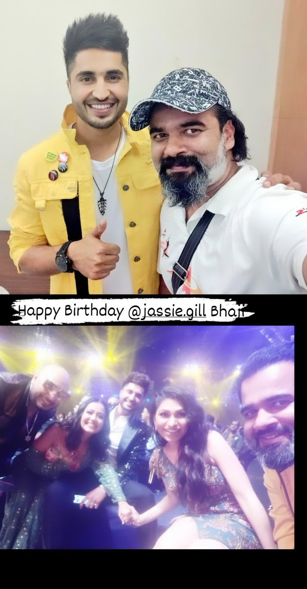 Wish you very happy birthday @jassiegill Bhaji.  Jhappi !!   #RjAlok