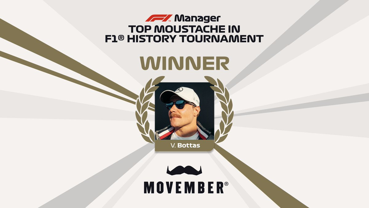 Wow!  Thank you for voting 🙏👨🏼  #VB77 #Movember