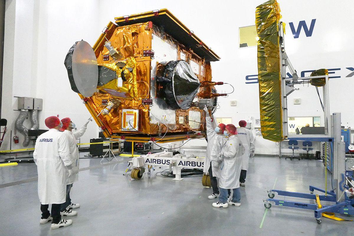 Okyanusların Gözcüsü Sentinel-6 Michael Freilich Uydusu Uzayda   #airbus #space #uzay #uydu #news #SpaceMatters #teknoloji #SeeingTheSeas #Sentinel6 @AirbusSpace