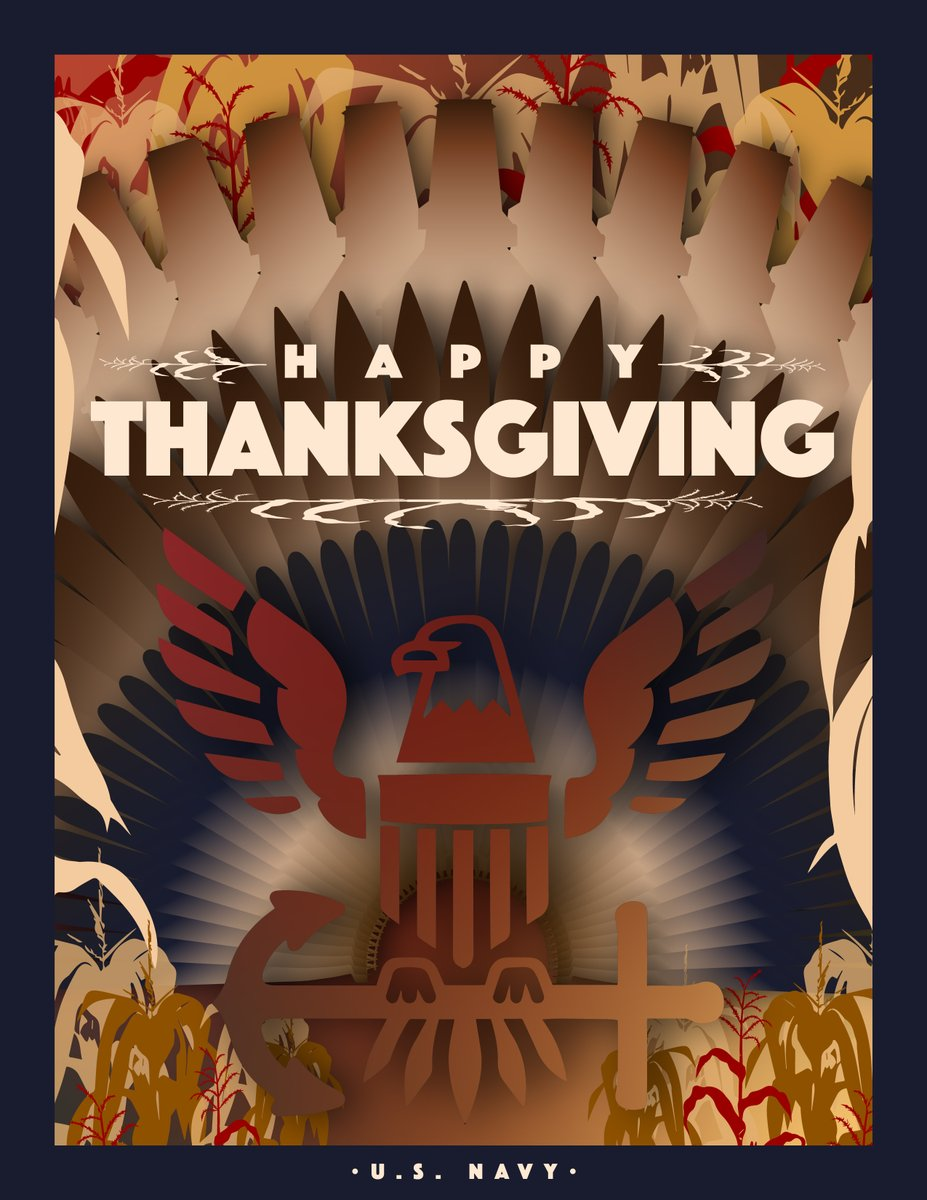 As we spend time with our families and close loved ones, please think about our Sailors deployed around the world away from their families this holiday season. Thanks for standing the watch, shipmates. Wishing our Sailors, civilians and families a very happy & safe Thanksgiving.