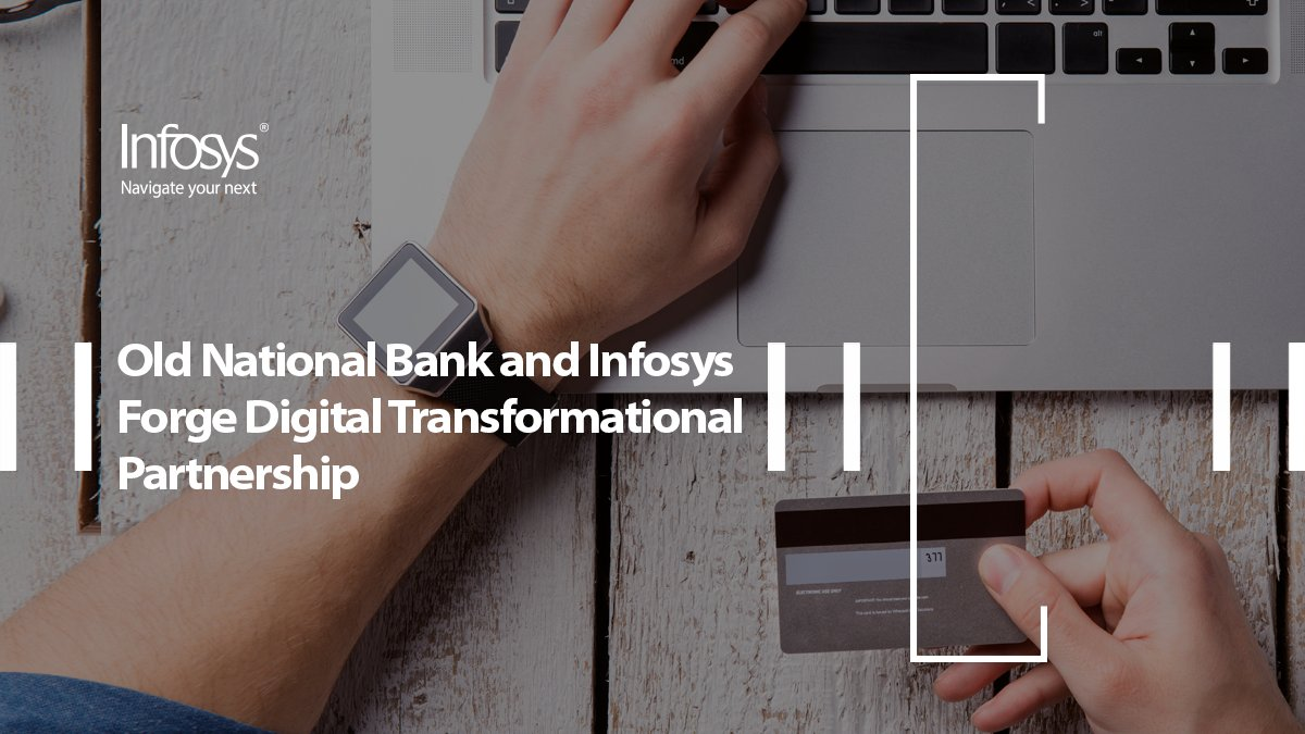 Watch how Infosys #appliedAI forges a partnership for #digitaltransformation between Old National Bank and Infosys. https://t.co/OXcj8TM2hQ https://t.co/egN8hIATOf