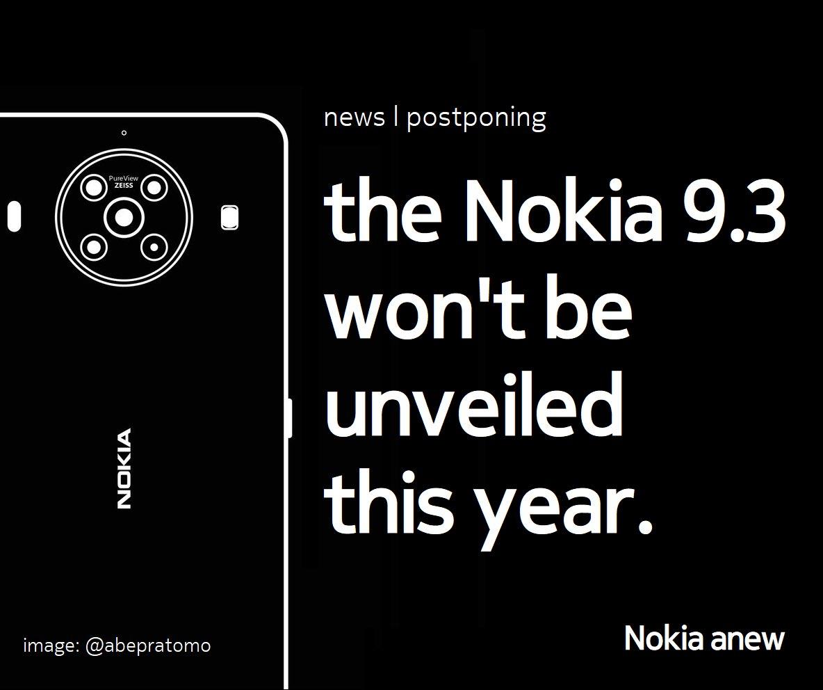 Enwb0DbXEAQCGXR-「Nokia 9.3 PureView」の発表が2021年前半に延期された可能性があります