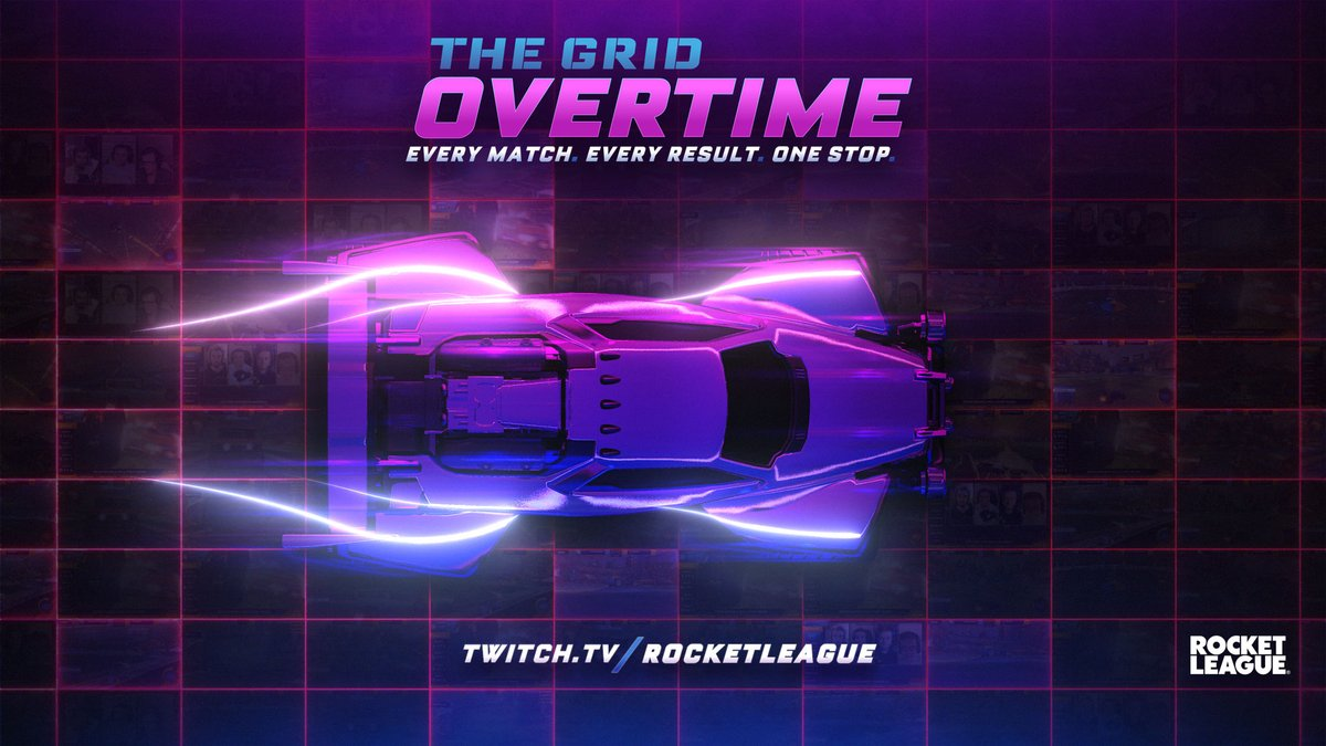 RocketLeague - #TheGrid Overtime is LIVE!  16 of Europe's finest are competing in today's Group Stage. Don't miss any of the action and join us as we cover every match! #RLCS  📺:  🚀: