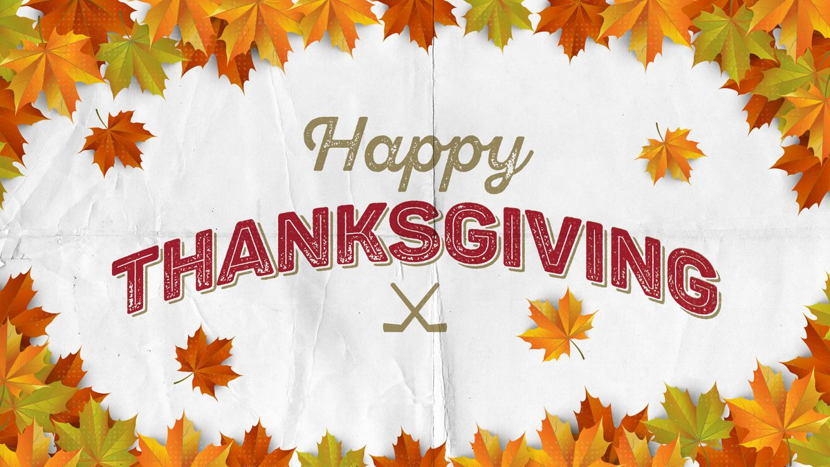 Have a wonderful #Thanksgiving!  #mnwild https://t.co/md4tX368ta