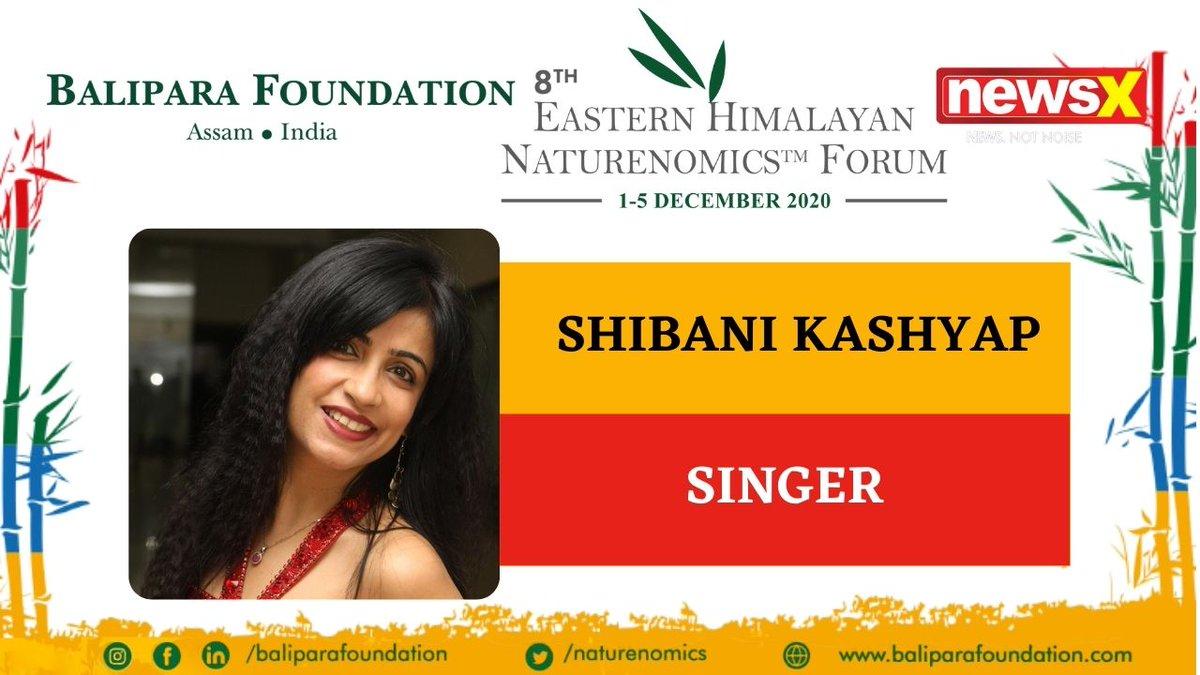 #EcologyIsEconomy  Join Shibani Kashyap, Singer (@shibanikashyap) at the virtual edition of 8th Eastern Himalayan Naturenomics Forum 2020, 1st-5th December, on #NewsX #EHNF2020 @naturenomics Register now-