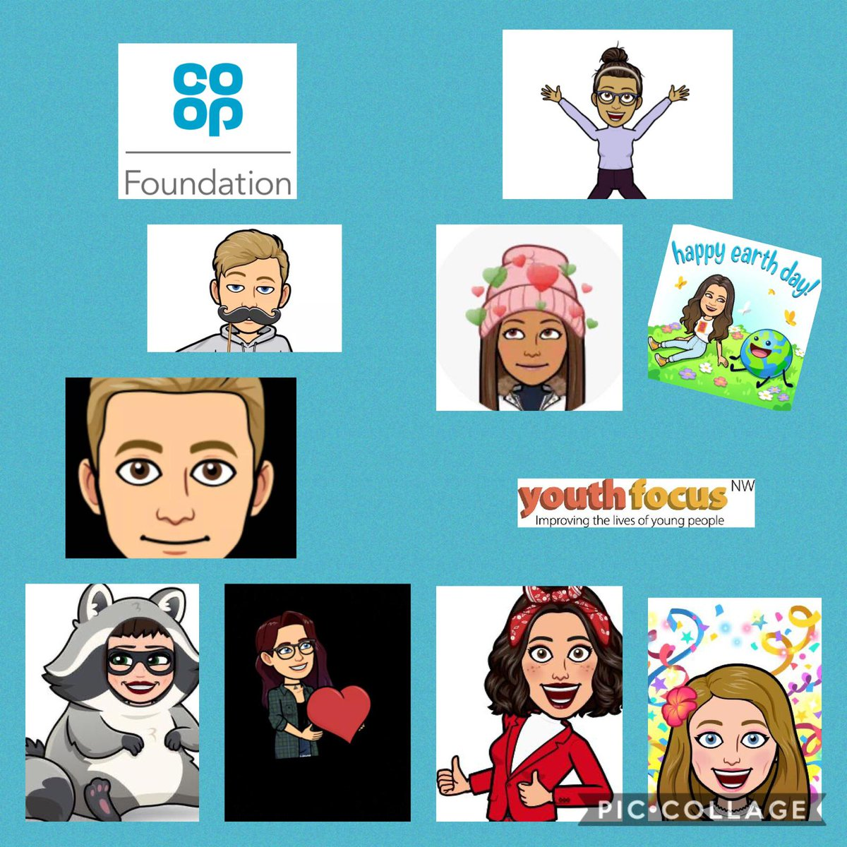 Tonight ....this team of amazing young people 👇🏼 will be working with the @Coop_Foundation making decisions on a £300k #iwill bereavement fund as the #Youthadvisorygroup   #youthvoice #makingadifference