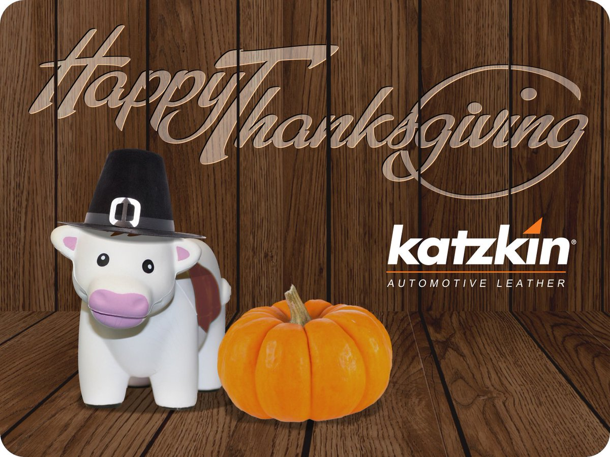 Happy Thanksgiving from our Fa-moo-ly to yours!  #happythanksgiving #thanksgivingfun #katzkin #katzkinleather #leatherupgrade #carupgrade #becauseclothsucks #leatherisbetter #loveyourdrive #craftedleather #customleather #carupholstery #carlifestyle #artisanalleather #carinterior https://t.co/NCf7lSog7G