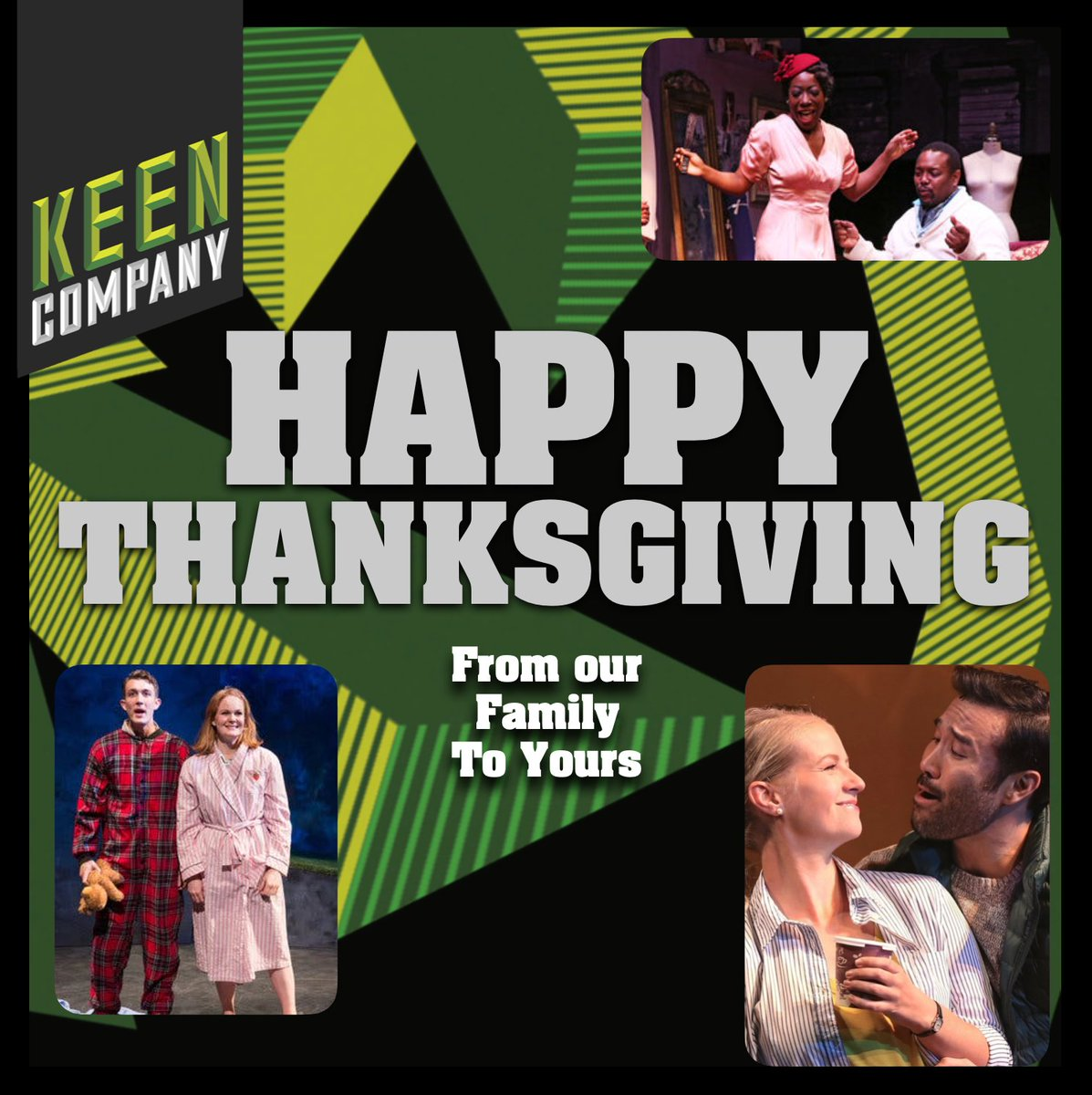 Keen Company lovingly wishes you and yours a very happy and healthy Thanksgiving!