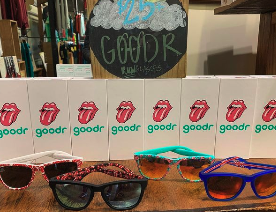 The The Rolling Stones sunglasses from @goodr are available at @BreakawayRuns! 😛 #ilovememphis