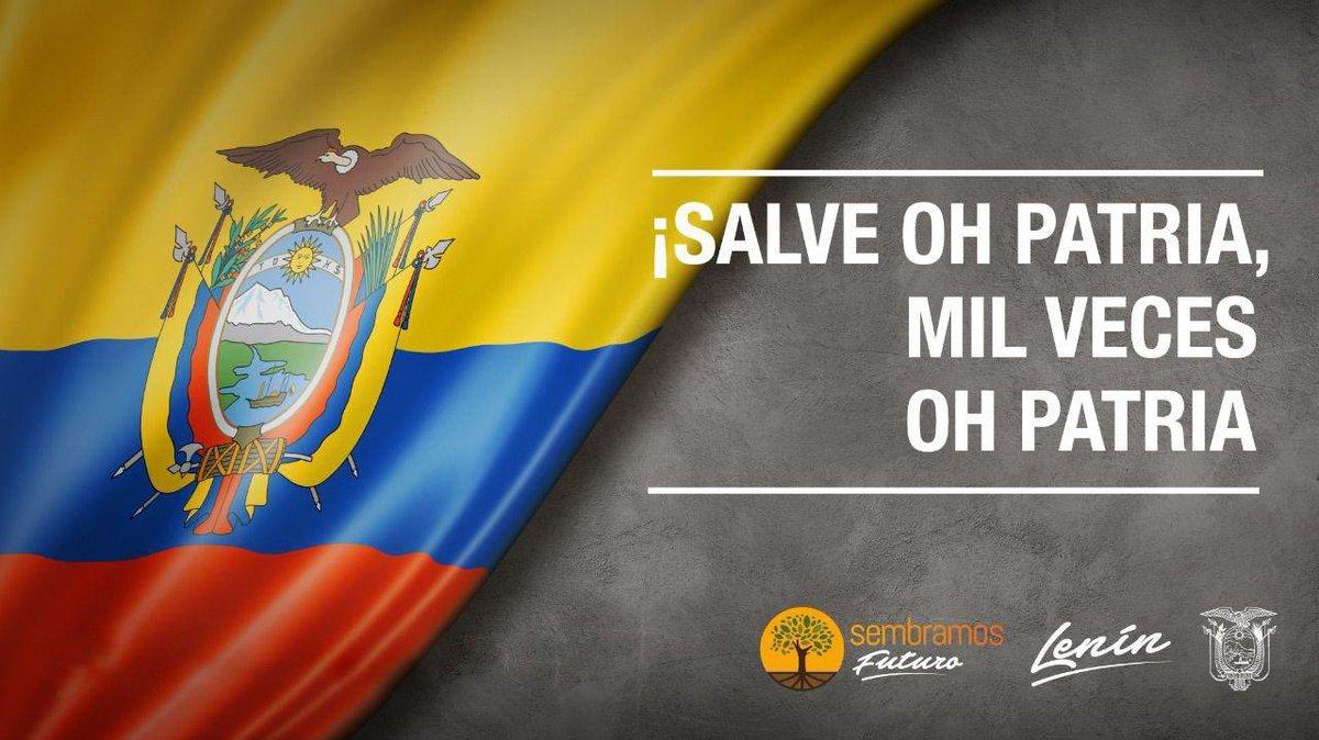 Hoy, 26 de noviembre conmemoramos el Día del Himno Nacional de Ecuador. Nuestro noble y glorioso símbolo patrio nació de la mente y talento del poeta Juan León Mera y el músico Antonio Neumane. #DíaDelHimnoNacional https://t.co/pLF6xwcLfO