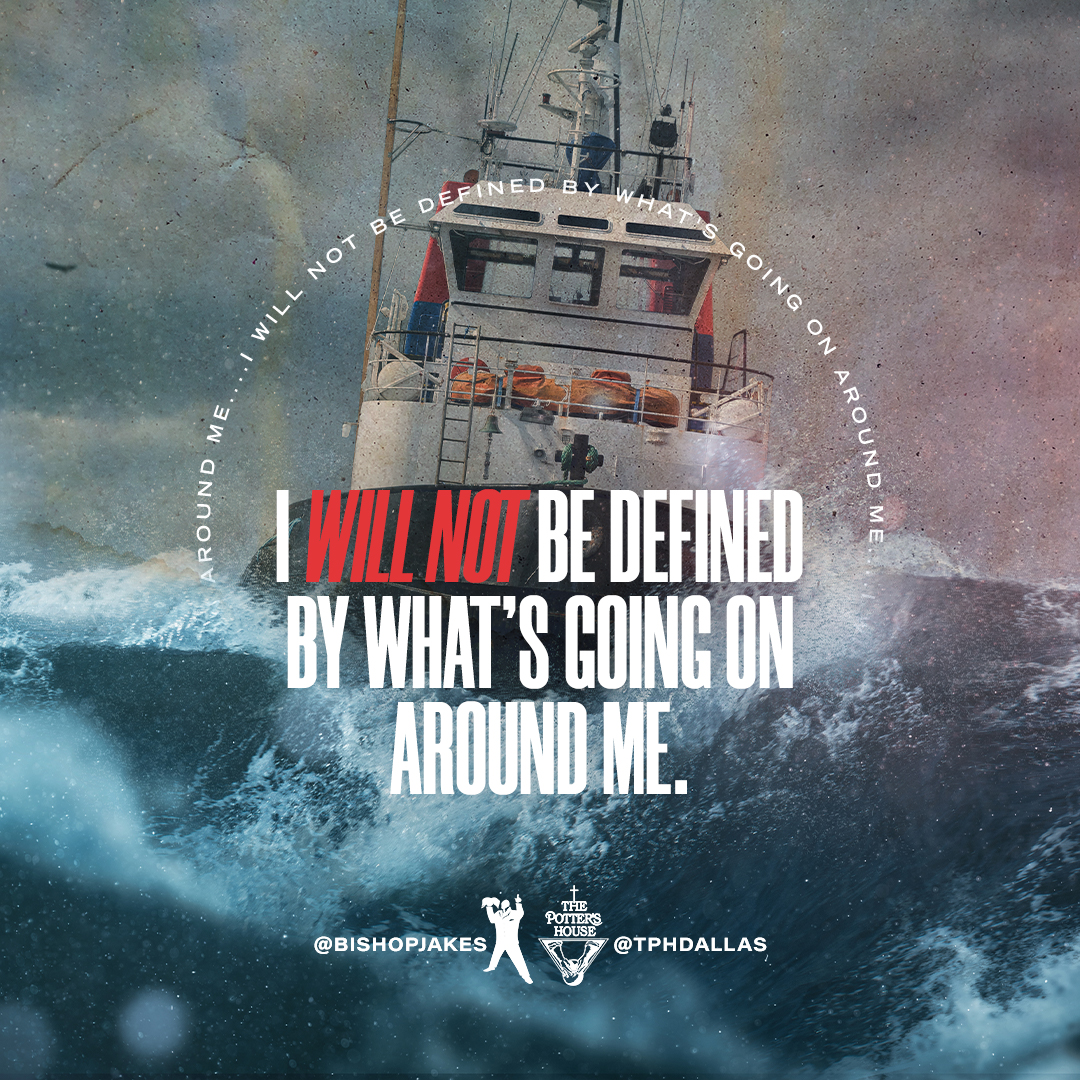 "When we have the ""light that shines in the darkness"" (John 1:5), we aren't being defined by our surroundings: we are defining them! We shine because we're #AllInTheSameBoat by @BishopJakes: YouTube.com/TDJakesOfficial #TDJOnline"