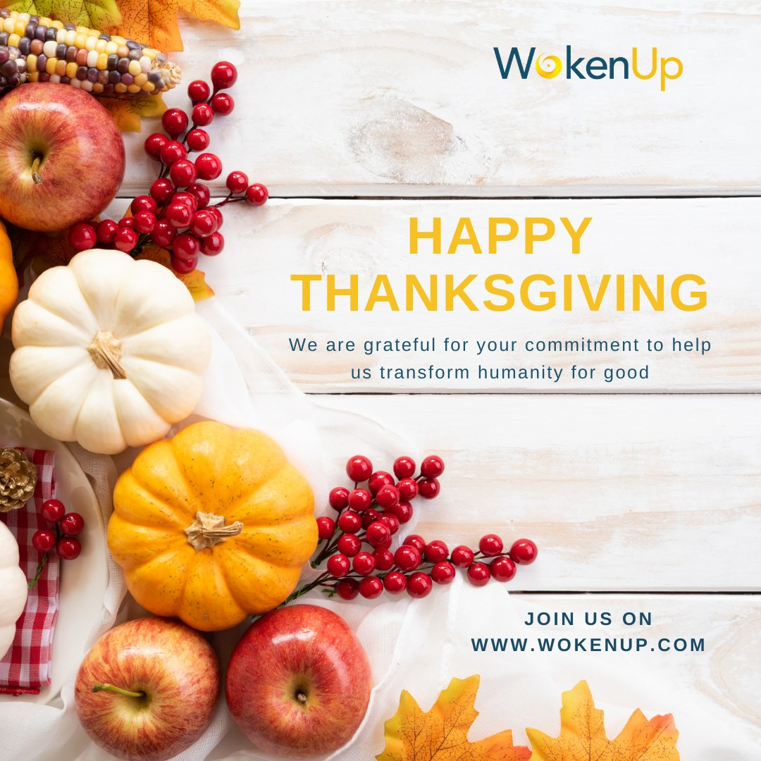 We would like to wish our community a very Happy Thanksgiving🍁   #partnerships #buildbackbetter #socialimpact #changemakers #unsdgs #profitwithpurpose #thanksgiving2020