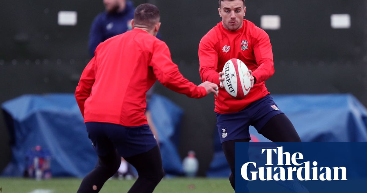 George Ford back for England v Wales battle in only change from Ireland romp https://t.co/rEqsSL8oFA https://t.co/BtFyd3FoVn