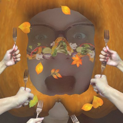 Gobbles to my favorite Twitter Turkeys🦃 Thanks, pumpkins, you're the best. Stick a fork in me, I think I'm done. Um, I'll leaf now.  🍁💛🧡🤎 #ThankfulFor Communities: #TheOrville #AutismAcceptance #Introverts #DomesticViolenceSupport #WeirdosUnited but in separate rooms.