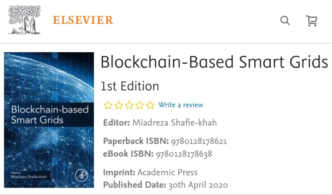 Happy to know this book is already ranked among high selling books in Alternative & Renewable Energy.  #high #ranking #highrank #sales #highselling #bestselling #best #book #bestsellingbook #blockchaintechnology #blockchain #SmartGrid #smart #renewable #energy https://t.co/6CQdQZiMUy