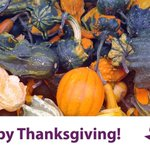 Image for the Tweet beginning: Happy #Thanksgiving from your friends