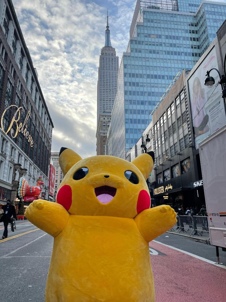 Good morning from Pikachu, Trainers! Say it back.