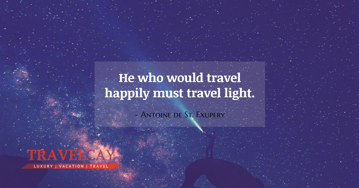 He who would #Travel happily must #Travel light - Antoine de St. Exupery #Atraveldiary #LuxuryTravel #Travelabout #Travelers #Travelholic #Travelingalone #Travellers #Travellolife #Travelltales #Wanderlust https://t.co/h0ekdhRHE4 https://t.co/Au0hituE3a