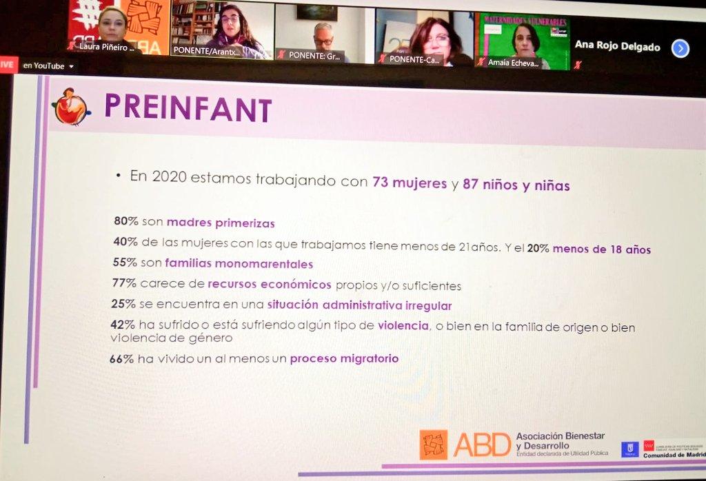 test Twitter Media - Esta mañana, las compañeras de @preinfant Madrid han participado en la Jornada Maternidades vulnerables organizada por @UNAFamilias y la @ASalutiFamilia. 👏👏 https://t.co/s8LkRNRXSK