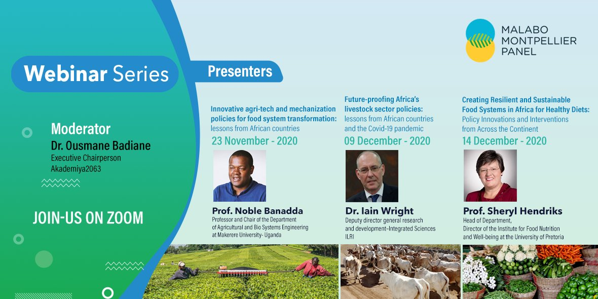 test Twitter Media - #MaMoWebinar Series: 3 dates, 3 speakers, & 3 topics on Policy Innovations for  ➊Innovative agri-tech & mechanization💻🚜  ➋A sustainable livestock sector in Africa🐄🐤  ➌Food systems & healthy🥭  Learn more: https://t.co/OVDznXX1sQ https://t.co/BPyZ8QXLFi
