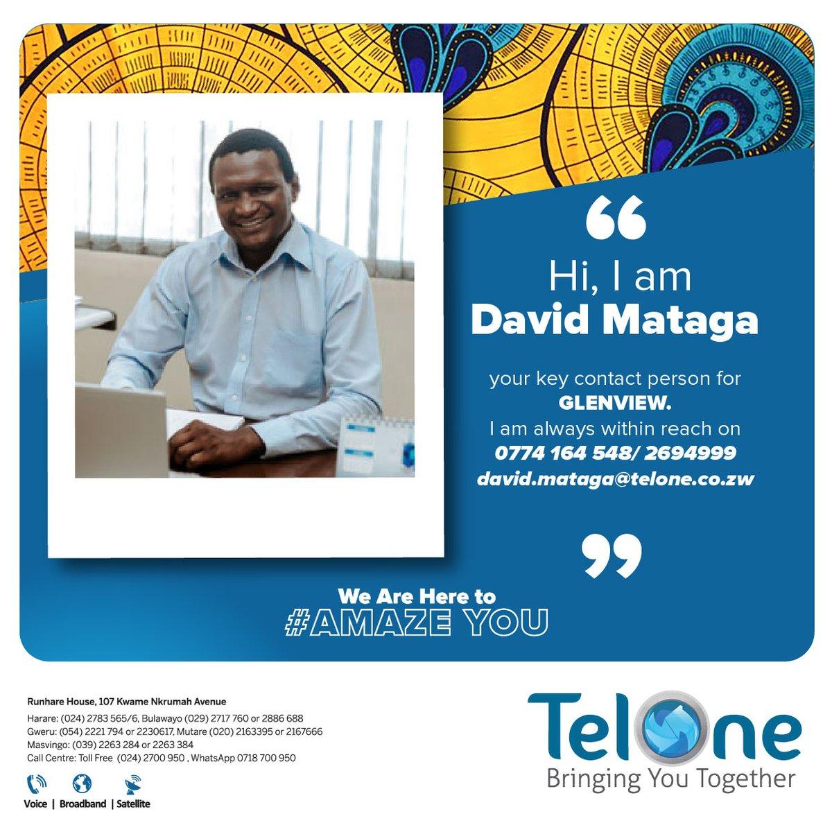 Meet Mr David Matanga your key contact person for Glenview. You can reach him on 0774 164 548 / 2694999. #WeAreHereToAmazeYou https://t.co/AkFiWhJGNJ