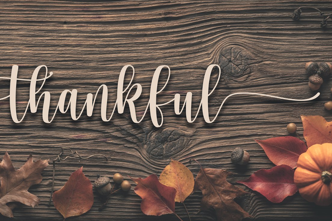 While it's true every year, with all of the challenges t2020 has brought our way, the #gratitude we have for our resilient staff and clients rings all the more true and a whole lot louder.