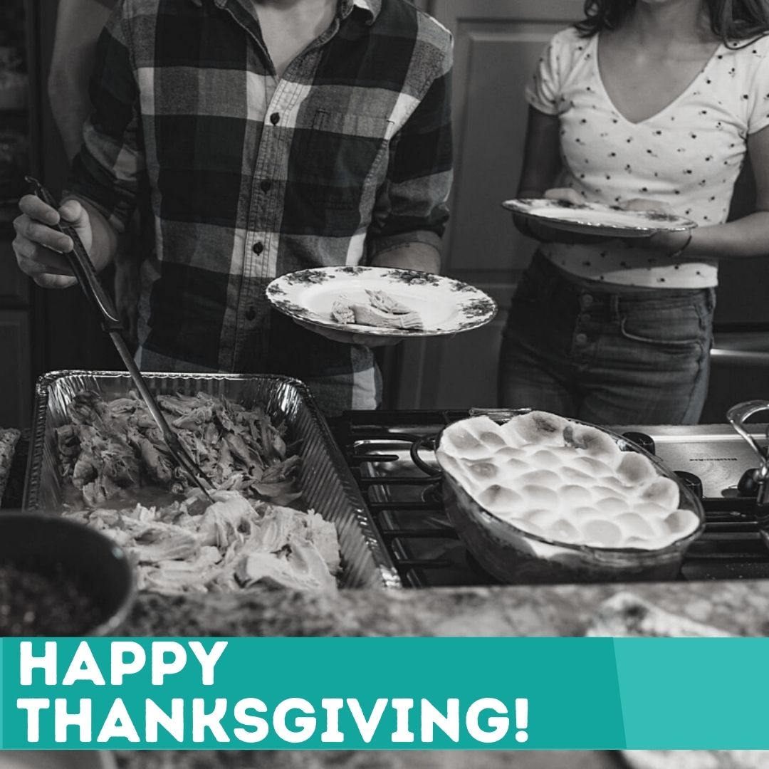 We hope you have a peaceful day full of #joy and #gratitude! #HappyThanksgiving