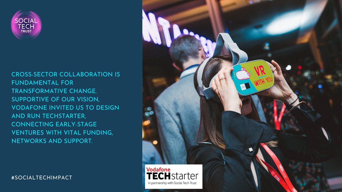 Read Our Impact Journey to find out how we've been working in partnership with @VodafoneUK and @VodafoneFdn to deliver a programme that helps connect early-stage ventures with funding, networks and support.  More:   #techforgood #partnership #Socialimpact