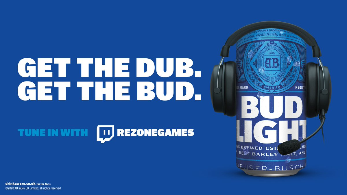 RezoneGAMES - Thanksgiving Soloqueue tonight fueled by @BudLightUK    #ad