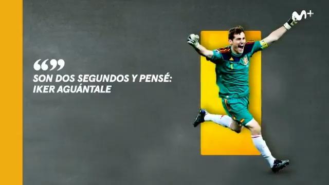 Todos fuimos el pie de @IkerCasillas ante Robben.  Este viernes a las 22.00h llega #ColgarLasAlas