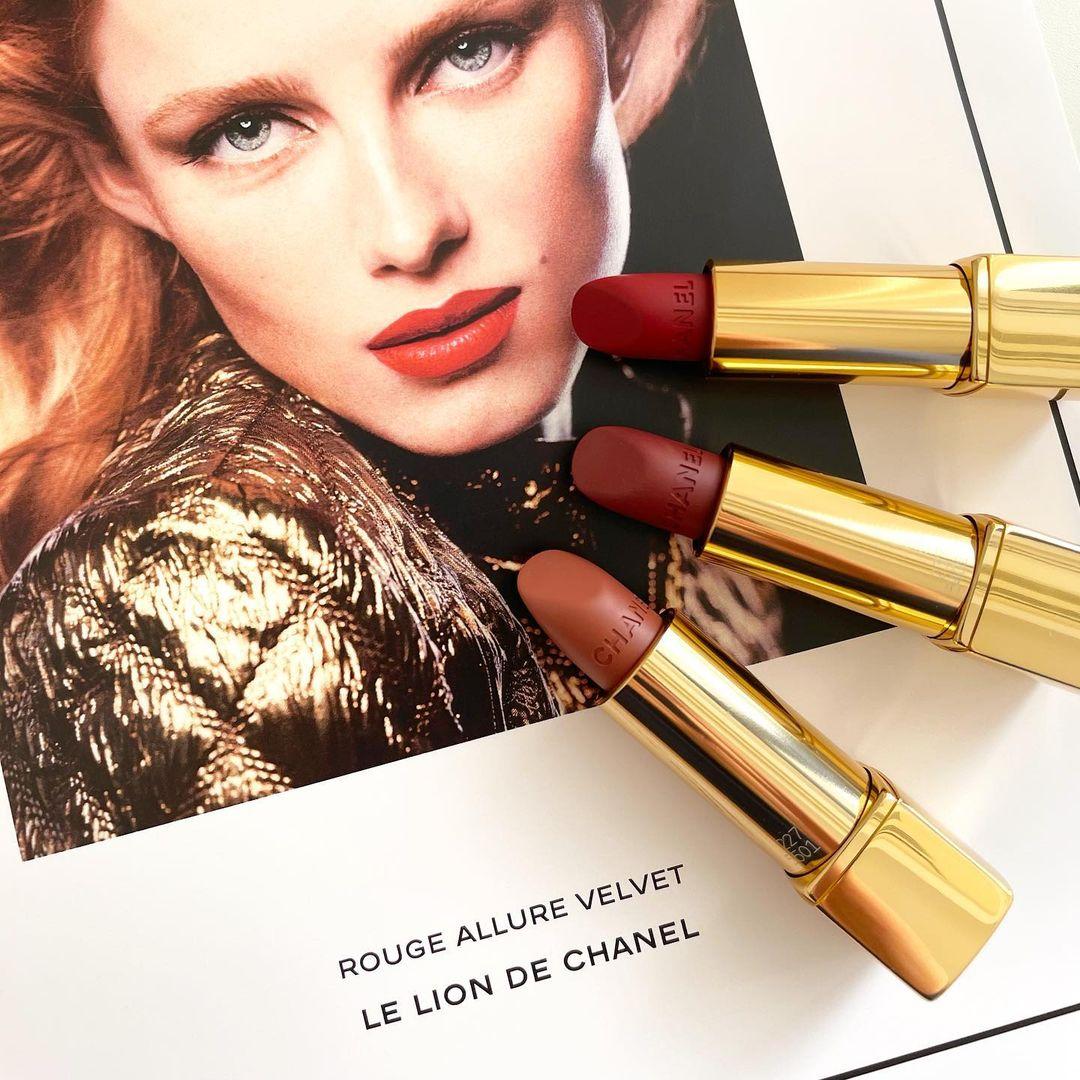 ##シャネル の新リップはライオンがテーマ  ルージュ アリュール ヴェルヴェッ ...   #Beauty #Chanel #Chanelmakeup #Cosmetics #Lipstick #MAQUIA