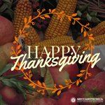 Image for the Tweet beginning: Happy Thanksgiving to our team