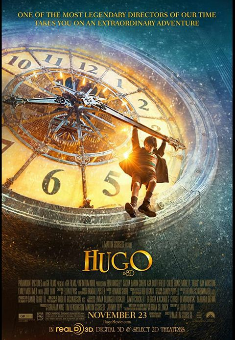 Magnificent!💯  #Hugo is a love letter for Movies..❤   It's a great blend of fiction & reality. It addresses foremost pioneers of Cinema & Rise and fall of the celluloid storytelling in its initial stages.  #MartinScorsese 's #Hugomovie #MovieReview
