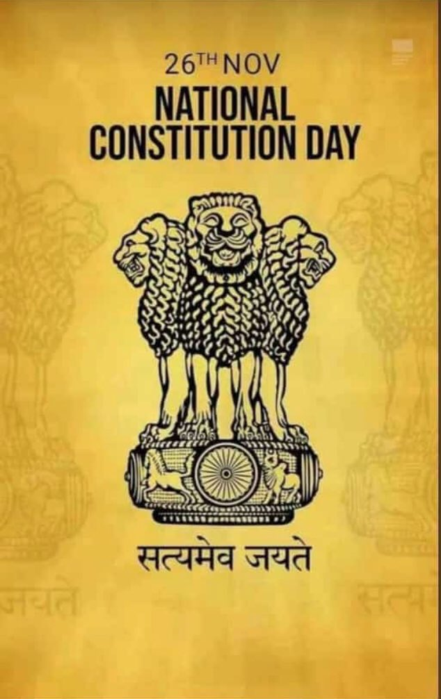 Article 51A(g) reminds us to protect and improve the natural environment including forests, lakes, rivers and wild life, and to have compassion for living creatures.  #ConstitutionDayOfIndia #constitutionofindia