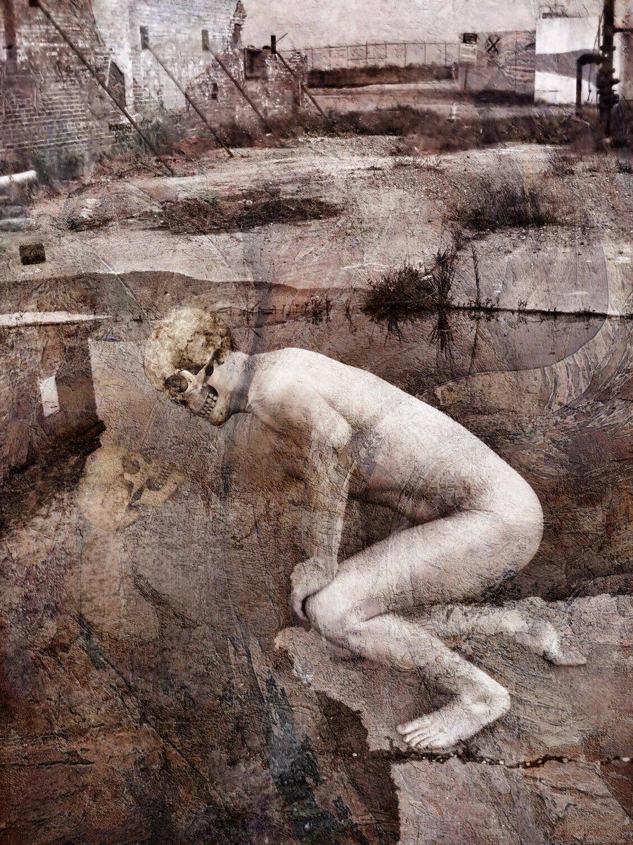 Falling Into Neverland (The Skull Dancers)   Grey Cross Studios #art #digitalart #contemporaryArt #skulls #skeletons #death #afterlife #surrealism #alternateuniverse #otherworlds #multiverse #parallelworld #scifi #fantasy #fantasyart