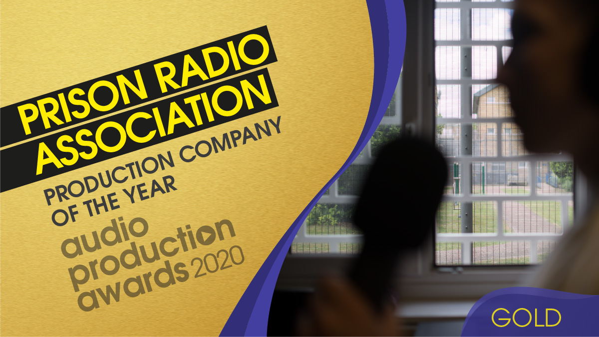 Our Production Company of the Year and our GOLD winner is…  Prison Radio Association  @prisonradiouk   HUGE congratulations, what an achievement! 🏆🎉   #APAs20 https://t.co/4vUA2O6PU5