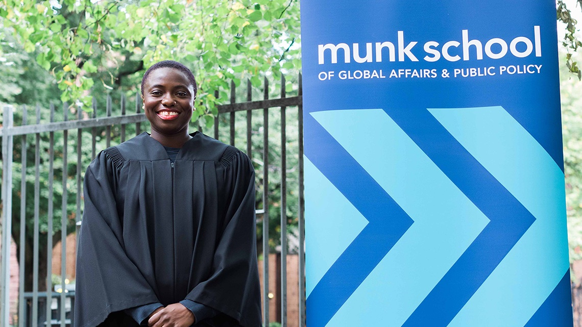 #UofTGrad20: @MunkSchool & @RotmanSchool grad Anowa Quarcoo is using tech to improve people's lives #UofT 📜