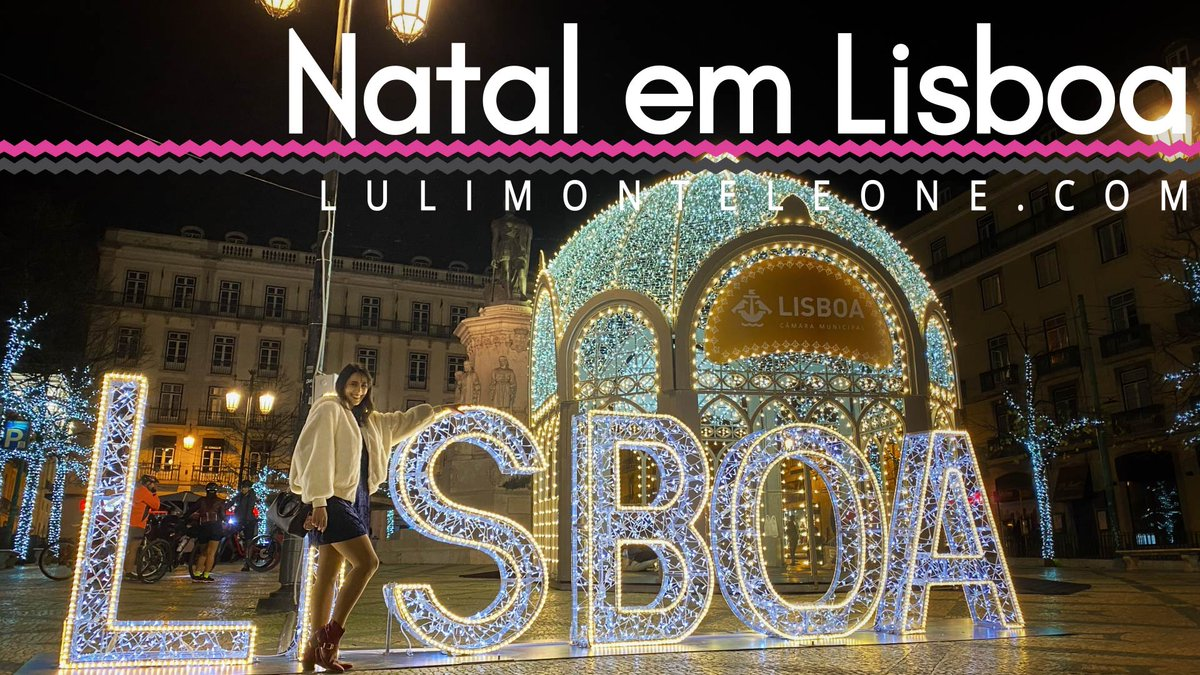 Novo vídeo: Natal em Lisboa! 🎄 Christmas in Lisbon, Portugal!   https://t.co/7SFPlqHZyZ  @visitportugal @TurismodeLisboa #Lisbon #Portugal #Lisboa #Christmas #Natal https://t.co/7CEE8i9gRL