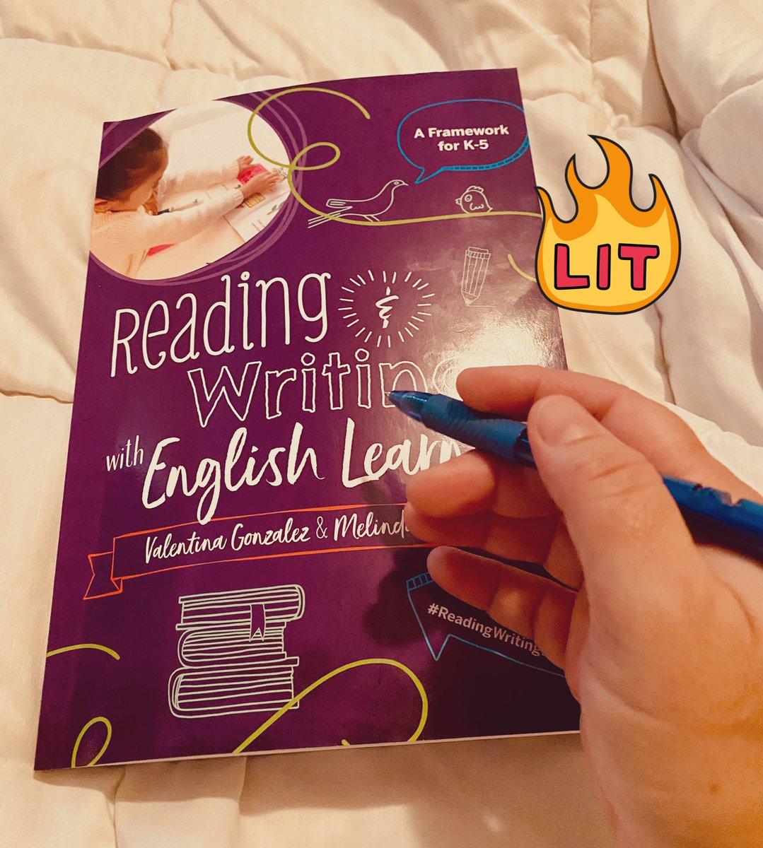 Let the fun begin... #Ellchat_BkClub #ReadingWritingELs @ValentinaESL @DrMelindaMiller
