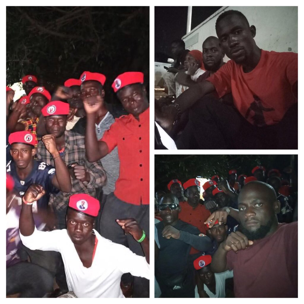 Our #MissionToFreedom is kinda Jesus who was born in a manger; because there was no room in the inn. Some Migyera locals joined @HEBobiwine, journalists et al in solidarity. #WeShallOvercome #WeAreRemovingADictator #14Jan2021 #VoteNUP for SANITY & HUMANITY🗳 THIS IS OUR COUNTRY‼️