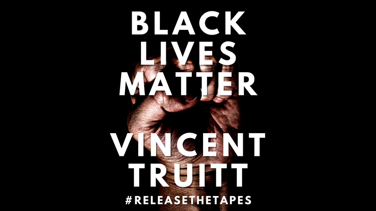 Today, the family of 17 year old #VincentTruitt continue to demand justice for his killing at the hands of a @cobbpolice1 officer. Help them get awareness on this case. RT widely. #blacklivesmatter. @justiceforvince  #JusticeforVince.