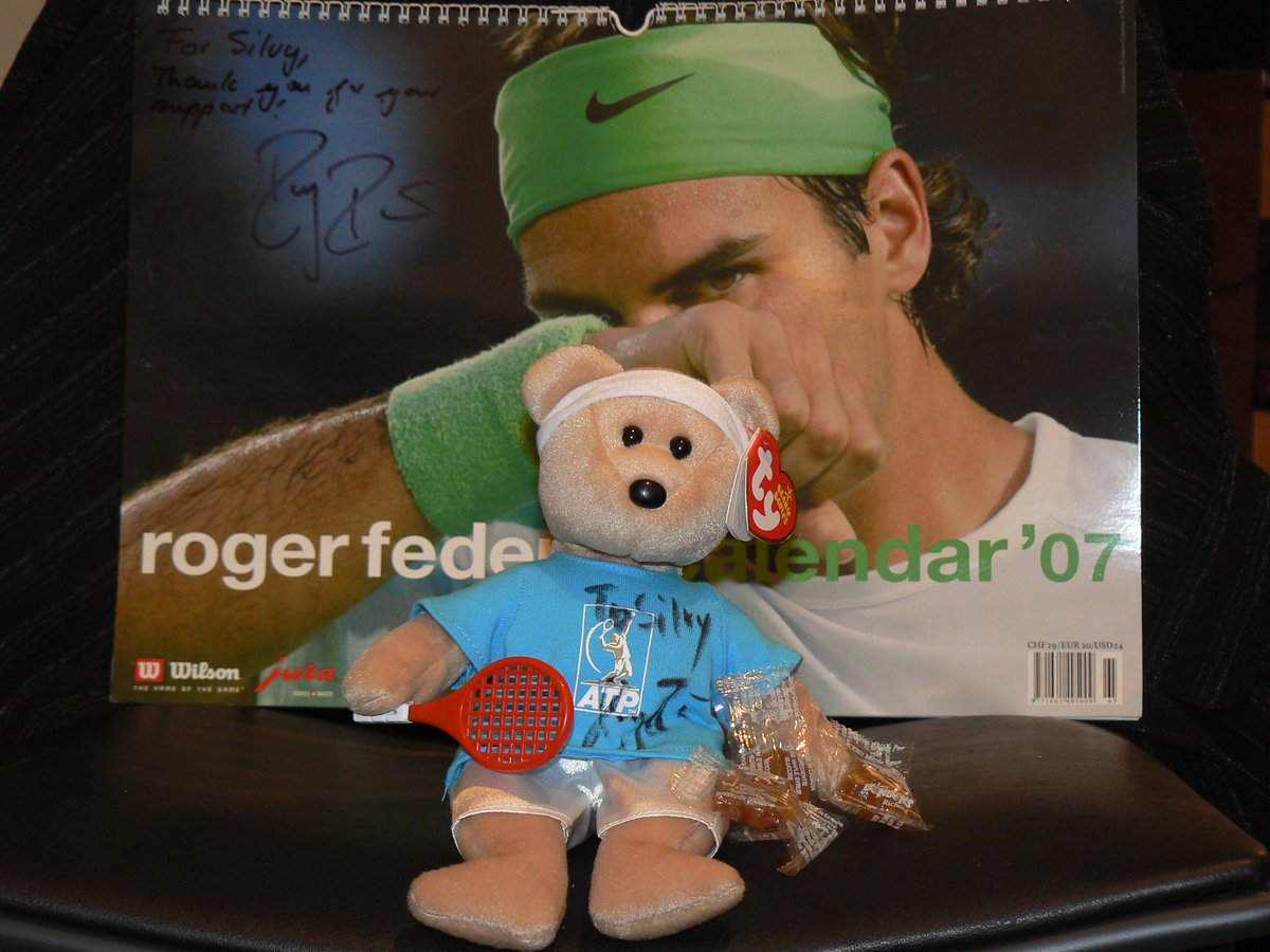Anyone has the #feder-bear?? Goodwill Ambassador Roger Federer's 'Feder-bear' made its debut in #2006 #uniceff #1 #federer #RogerFederer I want to see your pics!!. Please RT & share and answer with your pic https://t.co/TzVuTmCbBe