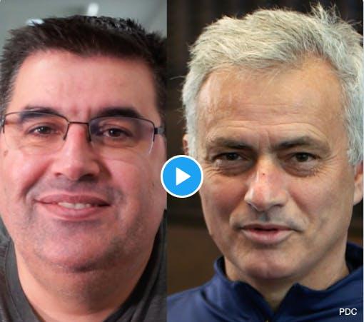 VIDEO: De Sousa krijgt felicitaties van Mourinho na eindzege op Grand Slam of Darts https://t.co/nOlL8J2qOe https://t.co/rmh0veIgE1