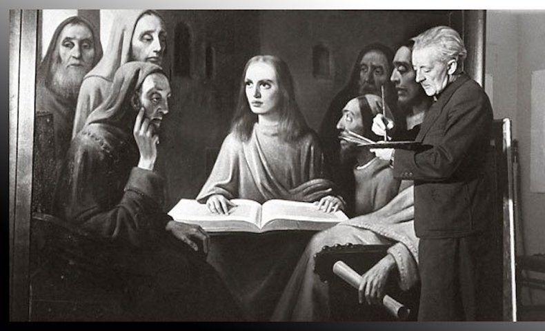 """(Marianne): Le tableau préféré d'#Hermann #Göring était un faux Vermeer : Léa Simone Allegria, auteure du """"Grand Art"""" (Flammarion), s'arrêtera chaque semaine sur une œuvre qui fascine – pour de bonnes ou de moins bonnes raisons –.."""