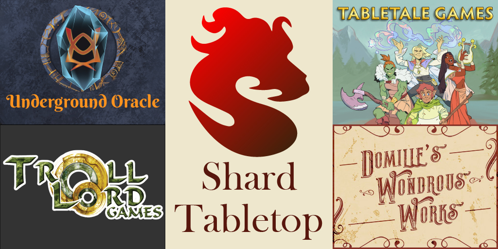 Happy Thanksgiving All.  From all of us here at Shard Tabletop and our partners @UOPublishing, @DomilleW, @TabletaleGames, and @trolllordgames, we wish all a safe and merry holiday.    We are so thankful for your support, encouragement and feedback.