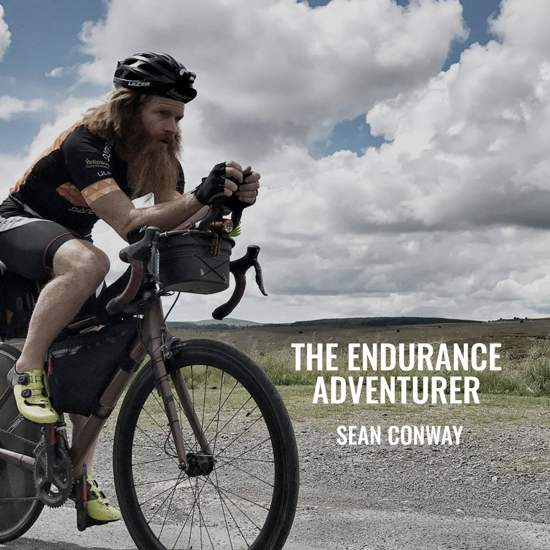 """""""When you fail, you'll only emerge stronger""""  Meet Sean Conway, The Endurance Adventurer. We caught up with Sean to talk everything from wild beards, to swimming the length of Great Britain solo to his 'holy crap' moment Clapping hands sign  Catch up here,"""
